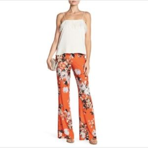 ABS by Allen Schwartz Floral Pants Size 4 NWT